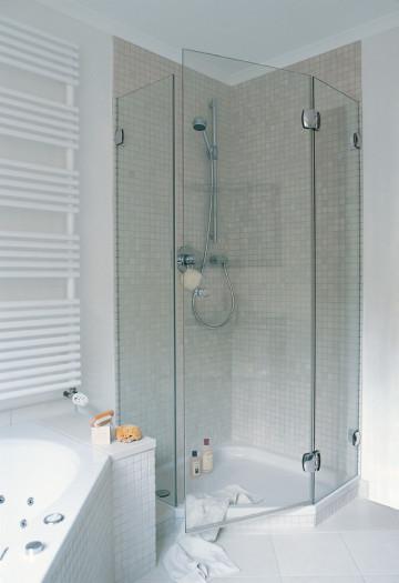 Dusche Wandverkleidung Glas : ST?HR glas+bautechnik – Duschen